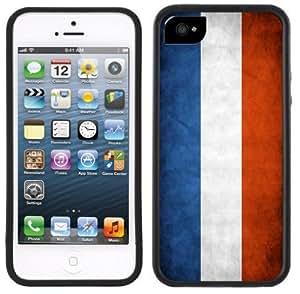 France Flag Handmade iPhone 5C Black Case