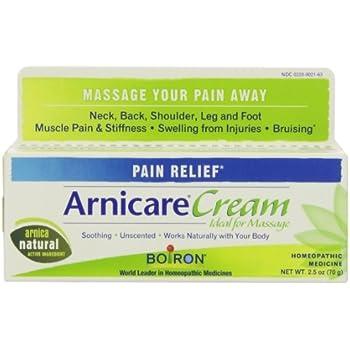 Amazon Com Boiron Arnica Cream For Pain Relief 2 5 Ounces Topical