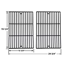 Porcelain Cast Iron Cooking Grid for Weber Genesis SP-310 2007, Genesis ESP-320 2007, SP310 2007, SP320 2007, S-310, S-310 2007, S-320, S-320 2007, S310, S310 2007, S320, S320 2007, S-310, S-320, S310, S320, 3740101, 3741301, 3742001, 3850101, 385100