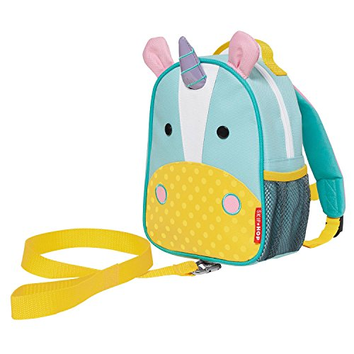 - Skip Hop Toddler Leash and Harness Backpack, Zoo Collection, Unicorn