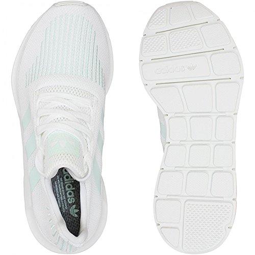 Adidas s Originals Damen Sneaker Swift Run Weiß/Mint Weiß/Mint
