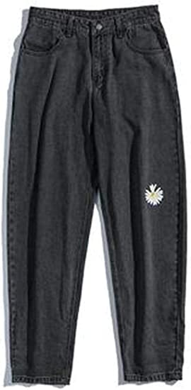 [ミートン] ワイドパンツ メンズ ジーンズ 春 夏 メンズ デニムパンツ 9分丈 ワイド ストレート 無地 ジーンズ ロングパンツ ファッション カジュアル 通勤 通学 ズボン