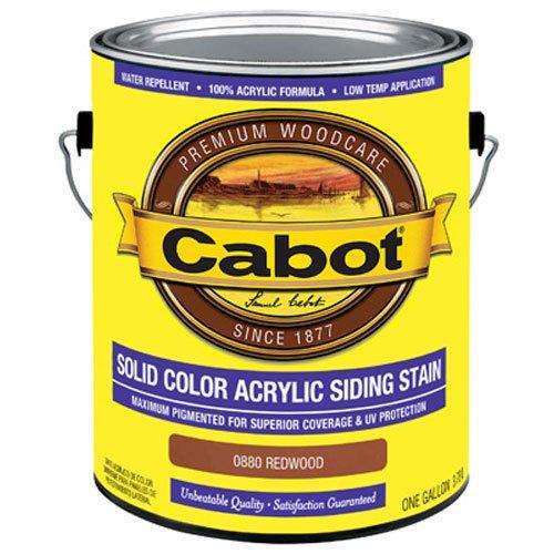 CABOT SAMUEL INC 0880-07 GAL REDWD Siding Stain, 1 gal (Stain Redwd)