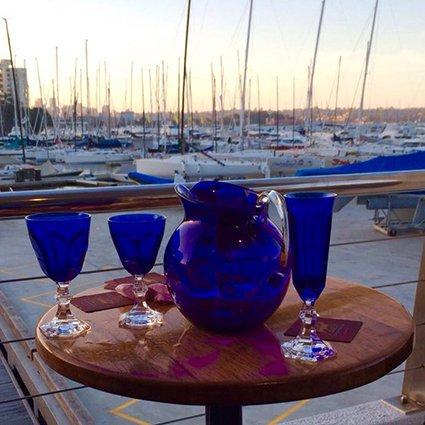 Mario Luca Giusti Set 6 Dolce Vita Wine Glass Blue by Mario Luca Giusti (Image #4)