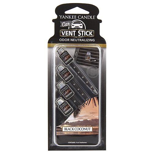 (Yankee Candle Car Vent Stick, Black)