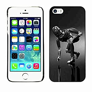 Planetar® ( Mech Robot ) Fundas Cover Cubre Hard Case Cover Apple iPhone 5 / 5S