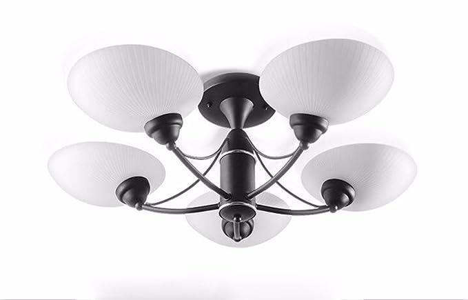 Plafoniere Da Soffitto Verde : Gzlight moderno plafoniera led lampada da soffitto molluschi