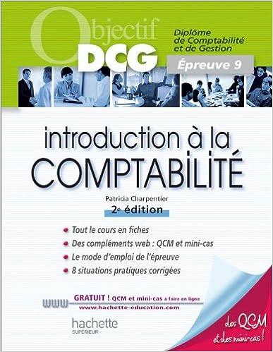 Télécharger en ligne Introduction à la comptabilité: Épreuve 9 pdf epub