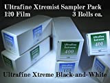 Ultrafine Extreme Xtremist Sampler B&W 120 Film ISO 100 & 400 Sample 6 Roll Pack