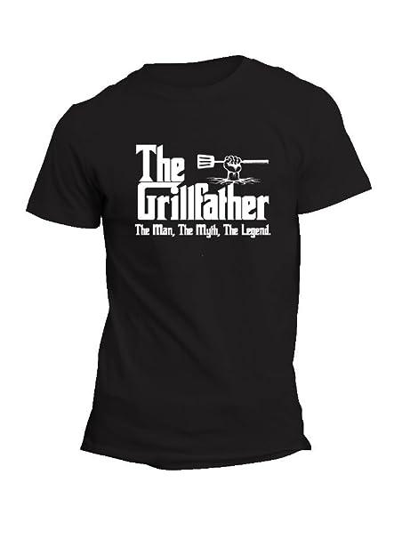 Amazon.com: GRILLFATHER para camisa de hombre – Padrino ...