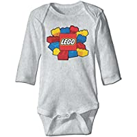 Lego Colorful Toy CGH Seven Baby Infant Toddler Climb Clothes Romper Ash