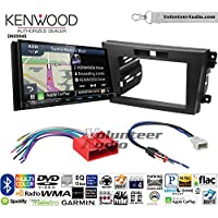 Volunteer Audio Kenwood Excelon DNX994S Double Din Radio Install Kit with GPS Navigation Apple CarPlay Android Auto Fits 2010-2012 Mazda CX-7