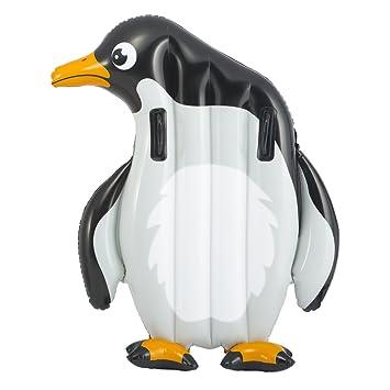 Intex - Cocodrilo y pingüino hinchable, 112 x 114 cm, 94 x ...