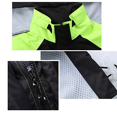 Black De Aire Agua Traje Pantalones Guyuan Libre Para La A Impermeable Motocicleta Lluvia Senderismo Impermeables Adultos Dividir Hombres Al Prueba Tx7qwE5WHY