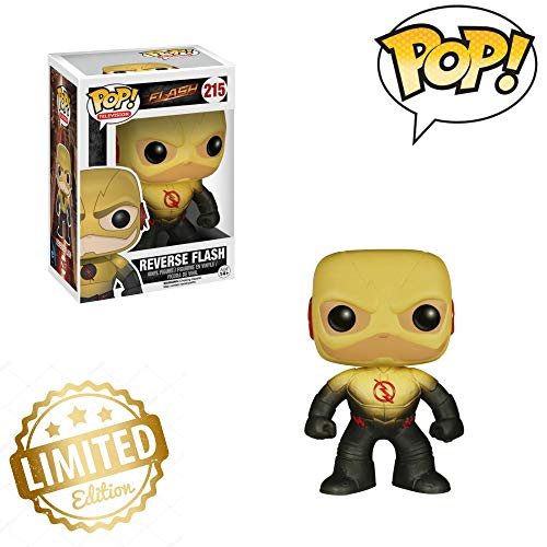 Tv: The Flash-Reverse Flash Action Figure Limited Edition