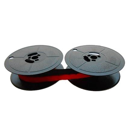 Cinta de color negro/rojo – para Olivetti Lettera 42 de talla 8 Farbbandfabrik Original
