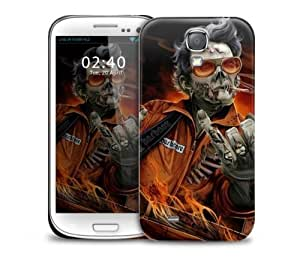 Hardcore Rock Zombie Samsung Galaxy S4 GS4 protective phone case