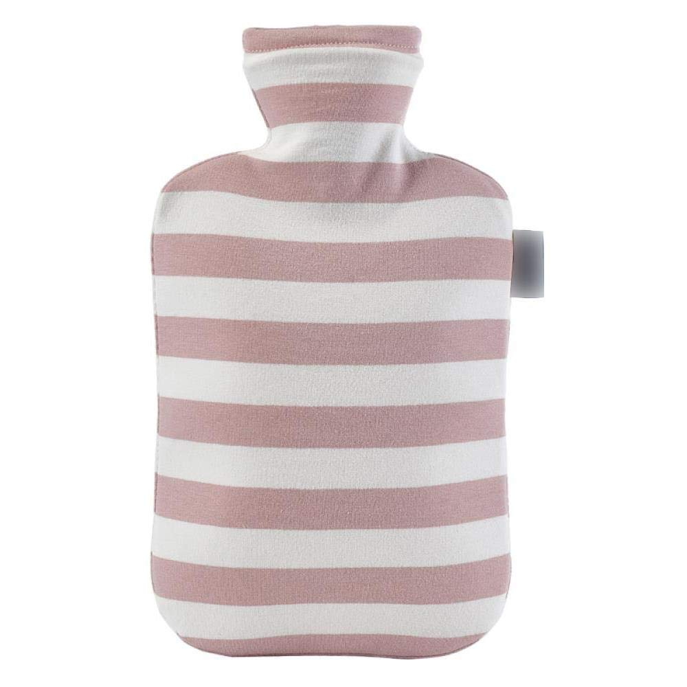 2000 ml Hot Water Bottle - PVC Hot Water Bag, Easy to Carry Durable Explosion-Proof and Leakproof for Hot Heat Therapy, Pink by YQQWN
