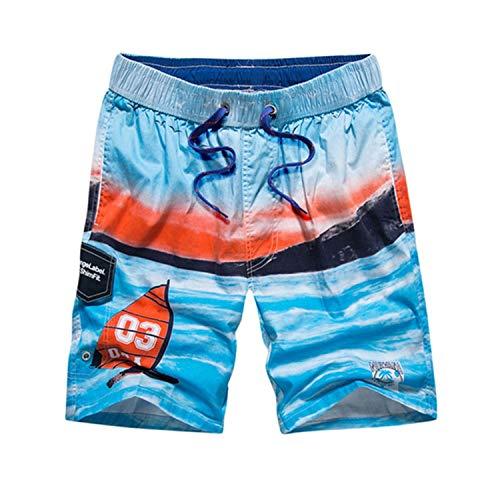 eb017ae5f1 No Buy No Bye Boy Swimsuit Swim Shorts & Shirt Summer Beach Swimwear  Swimming Trunks Surf