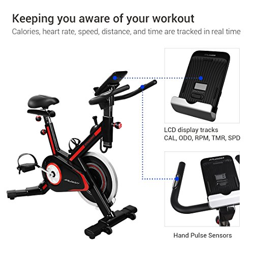 Fitleader FS1 Indoor Stationary Exercise Bike