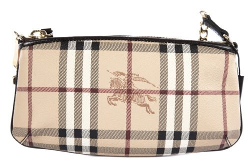 Burberry Haymarket Nova Check Clara Convertible Wristlet by BURBERRY