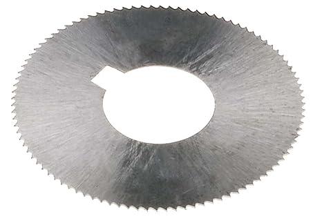 ".023/"" Thick x 2-3//4/"" Diameter x 1/"" Arbor Hole 72 Teeth HSS Screw Slotting Saw"