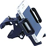 Deluxe Adjustable Mobility Phone Mount for Wheelchairs, Rollators, and Scooters