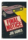 Final Notice, Joe Gores, 0394487060