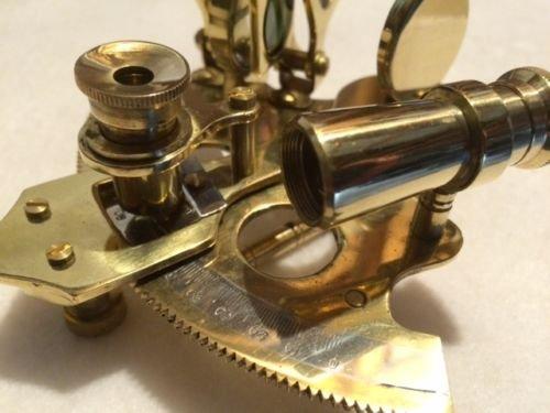Nautical真鍮六分儀~ Noボックス~ Sextent Astrolabe。B B0799MNWDK