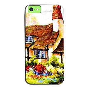 Fashion Design Protection For Iphone 5c Case White V9ouAZIcy