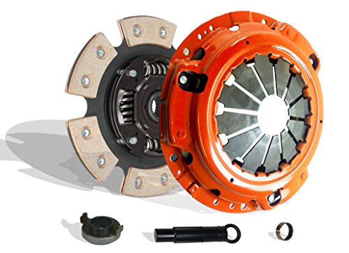 Clutch Kit Works With Set Honda Accord Ex Dx Special Edition Value Coupe 2-Door Sedan 4-Door 2003-2007 2.4L l4 GAS DOHC Naturally Aspirated (6-Puck Disc Stage (Honda Accord Special Edition)