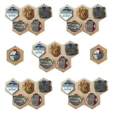 médaille cintre / affichage médaille / porte-médaille / cadeau parfait / cadeau pour / sports / HXW Set 12