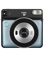 Fujifilm Instax SQ EX D Instant Camera, Directe camera, aqua-blauw, Square