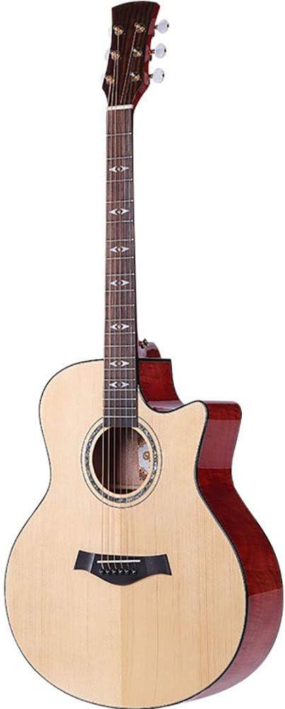 NUYI 41 Pulgadas Guitarra Acústica Estudiantes Masculinos y ...