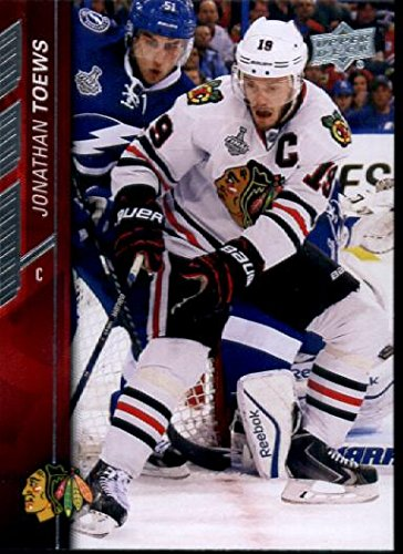 Image Unavailable. Image not available for. Color  2015-16 Upper Deck  Hockey  44 Jonathan Toews Chicago Blackhawks 40c077aca