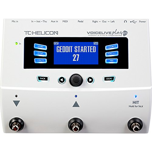TC Helicon Voice Live Play GTX Vocal Effects Processor by TC-Helicon
