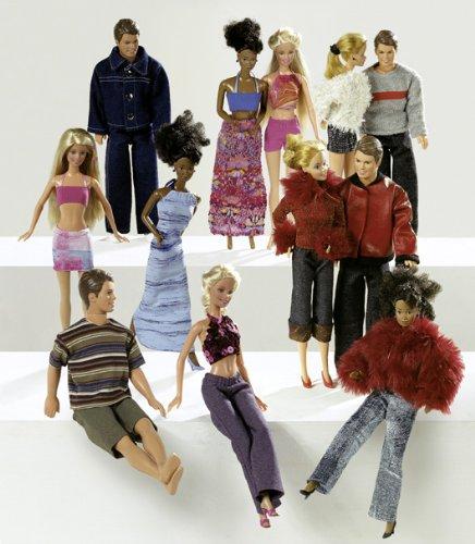Burda 8576 Schnittmuster Puppenkleider Barbie (Puppen, Gr, one size ...