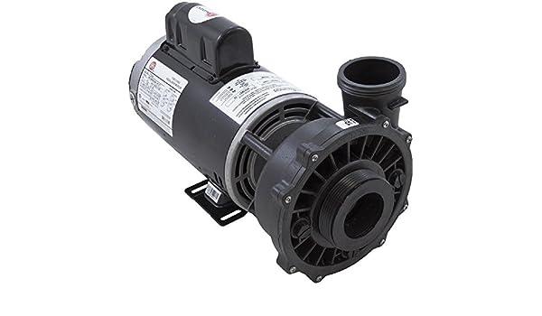 3721621-1D Waterway Executive 56-Frame 4HP Dual-Speed Spa Pump