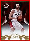 2010-11 Absolute Memorabilia #58 Andrea Bargnani toronto raptors (87d)