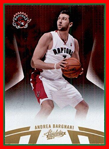 - 2010-11 Absolute Memorabilia #58 Andrea Bargnani toronto raptors (87d)