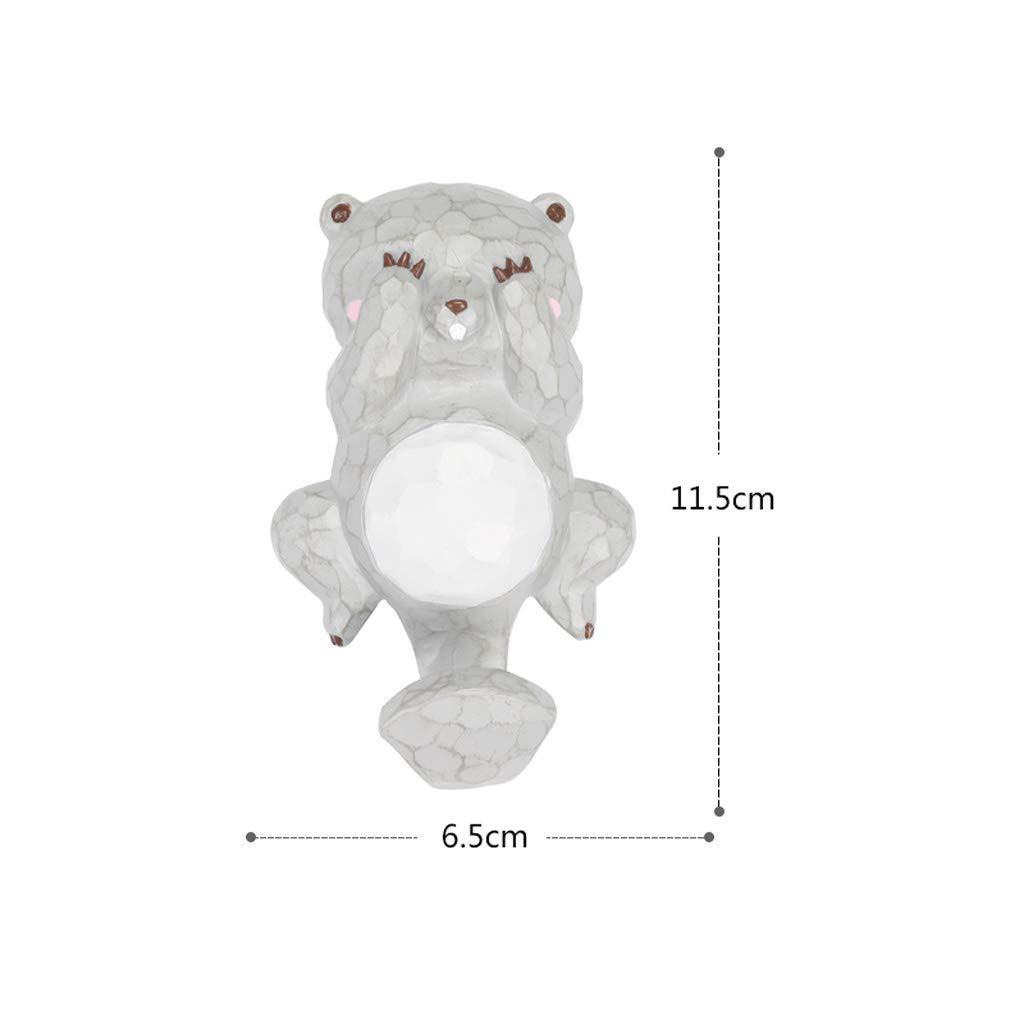Aufbewahren & Ordnen HLJ Einfache Persönlichkeit Veranda Haken Cartoon Tier Kinderzimmer Kleiderhaken Mode Wandhaken Mehrzweckhaken
