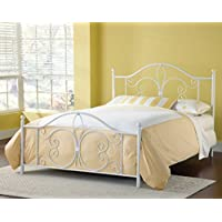 Bergshoeff Textured White Full Bed Set