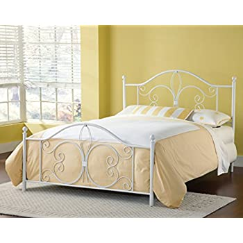 bergshoeff textured white full bed set - Full White Bed Frame