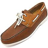 Easy Strider Men's Boat Shoes – Brown - Size 9.5