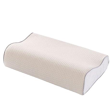 QETU Almohada De Espuma De Memoria, Almohada De Cuello Ortopédico Cervical Almohadas para Dormir Suave
