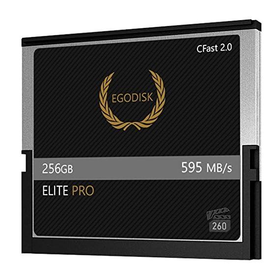 Egodisk elite pro 256gb cfast 2. 0 card-(blackmagic ursa mini | bmpcc pocket | 4k • 4. 6k • 6k | canon • xc10 • xc15 • 1dx… 2 egodisk. Com 3 year usa limited warranty global shipping video performance guarantee-260 ( vpg-260 ) cfast 2. 0 vpg-260 capacity: 256gb speed: 595mb/s