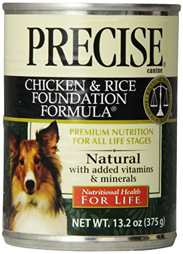 Precise 726071 12-Pack Canine Foundation Can Food for Pets, 13.2-Ounce