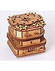 iDventure Cluebox - Davy Jones Locker - Escape Room spel - knapperige 3D houten puzzel puzzel - unieke puzzelspellen - Escape Box spel voor volwassenen en raadselbox voor kinderen
