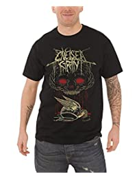 Chelsea Grin Blood Brain logo Official Mens New Black T Shirt