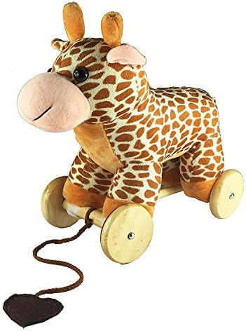 DanyBaby Cute Pulling GiraffeSimulative Animal Sound- ASTM Safety Approved